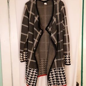 Venus long sweater duster